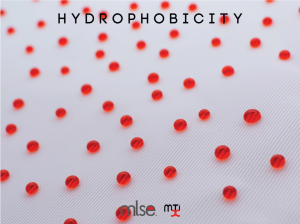 Hydrophobicity achieved through MLSE surface processing